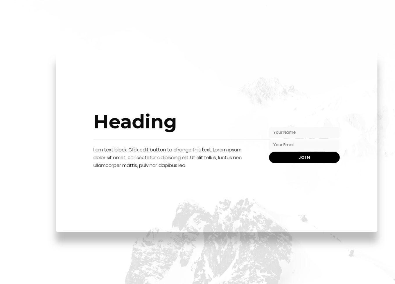Newsletter Subscription 4