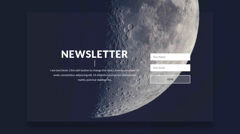 Newsletter Subscription 6