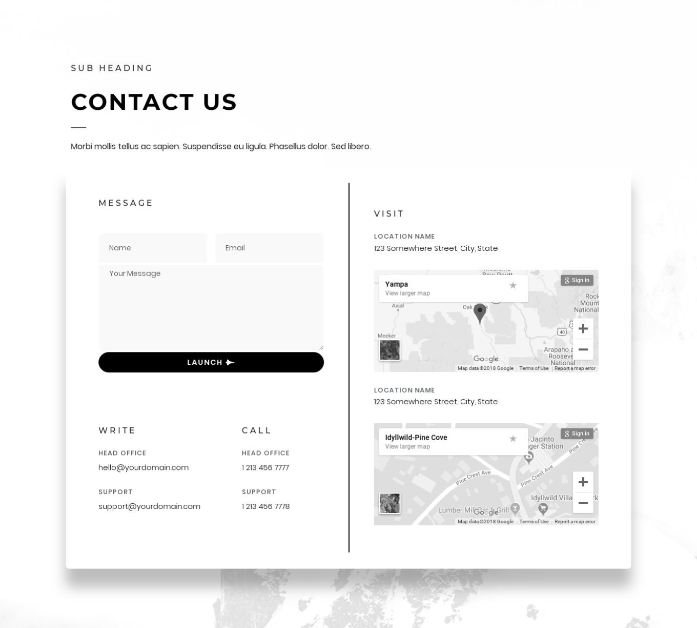 Contact 5