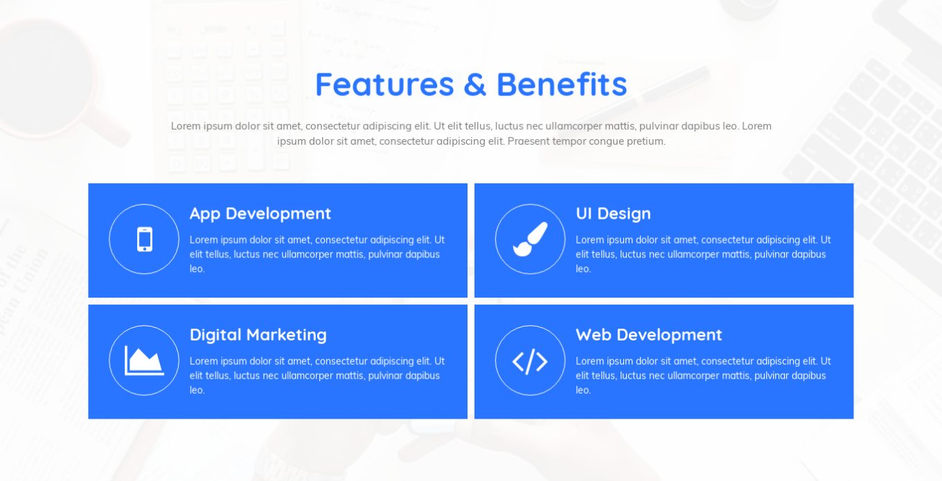 Features and Benefits 14