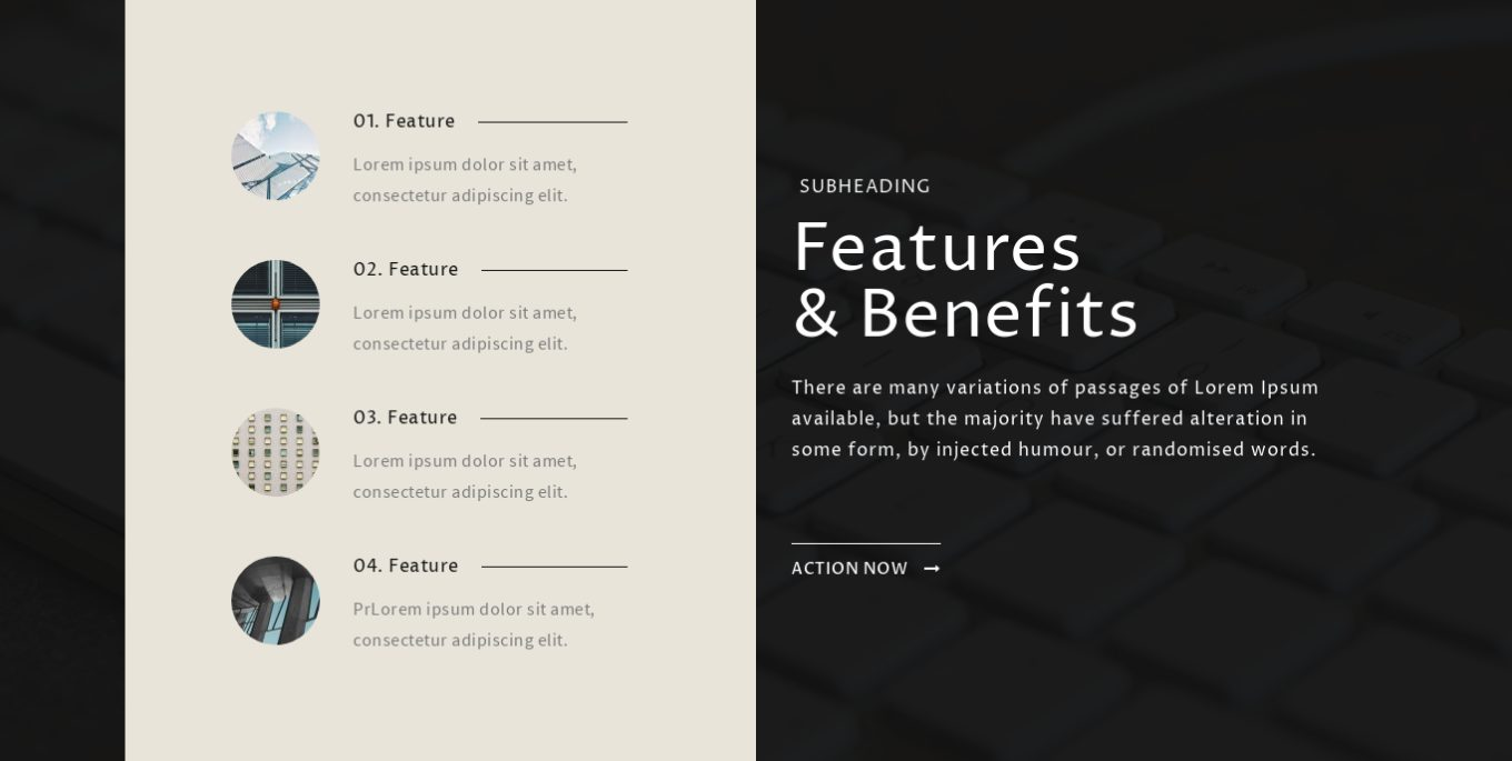 Features and Benefits 8